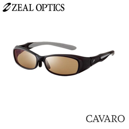 zeal optics(ジールオプティクス) 偏光グラス カヴァロ F-1207 #ラスターオレンジ/シルバーミラー ZEAL cavaro