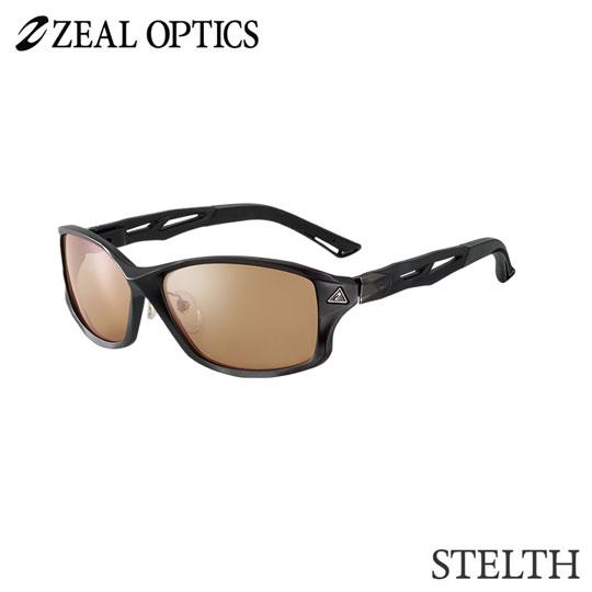 zeal optics(ジールオプティクス) 偏光グラス ステルス F-1386 #ラスターオレンジ シルバーミラー ZEAL STELTH
