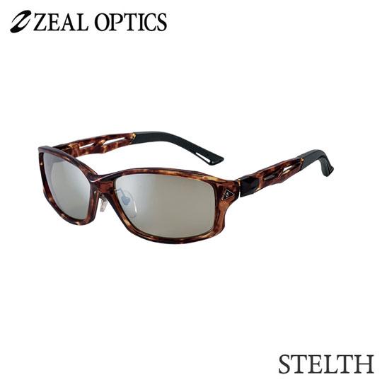 zeal optics(ジールオプティクス) 偏光グラス ステルス F-1387 #トゥルビュースポーツ シルバーミラー ZEAL STELTH