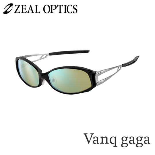 zeal optics(ジールオプティクス) 偏光グラス ヴァンクガガ F-1075 #イーズグリーン ブルーミラー ZEAL Vanq gaga