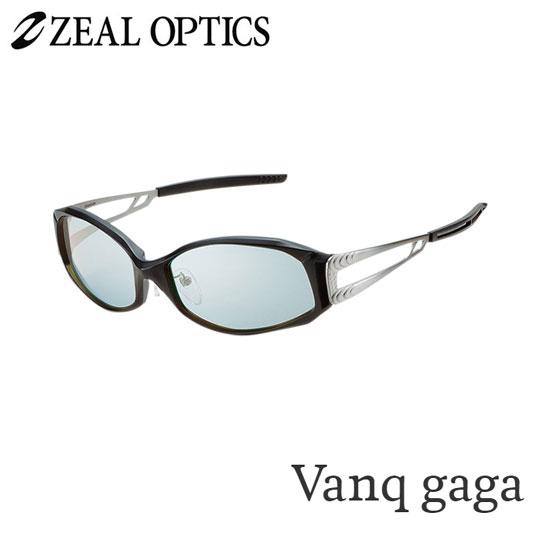 zeal optics(ジールオプティクス) 偏光グラス ヴァンクガガ F-1076 #マスターブルー シルバーミラー ZEAL Vanq gaga