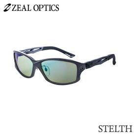 zeal optics(ジールオプティクス) 偏光グラス ステルス F-1391 #イーズグリーン ブルーミラー ZEAL STELTH