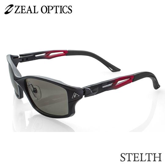 zeal optics(ジールオプティクス)  偏光グラス ステルス F-1399 #ラスターオレンジ ZEAL STELTH