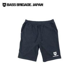 バスブリゲード シールドスウェットショーツ 【BRSS01】 BASS BRIGADE SHIELD SWEAT SHORTS