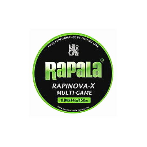 RaPaLa ラパラ RAPINOVA-X ラピノヴァ-X マルチゲーム PEライン 0.6〜1.5号 150m