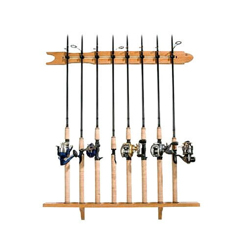 Bass Pro Shop/バスプロショップ オリジナルロッドラック 8用【釣り/フィッシング/釣り具/釣具】【ロッド関連/ロッド用品】