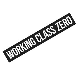 ワーキングクラスゼロ WCZ スタンダードステッカー 9inch WORKINGCLASSZERO