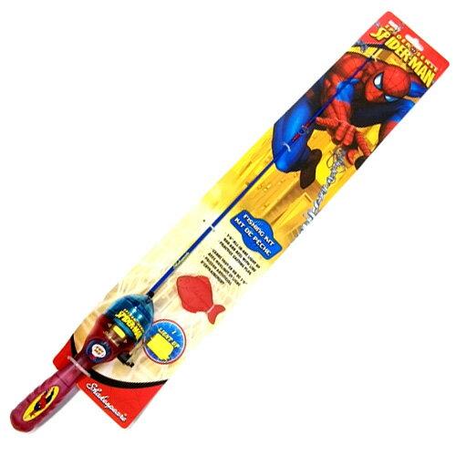 MARVEL/マーヴル スパイダーマン フィッシングキット【釣り/フィッシング/釣り具/釣具】【バスロッド/釣り竿/ベイトロッド】