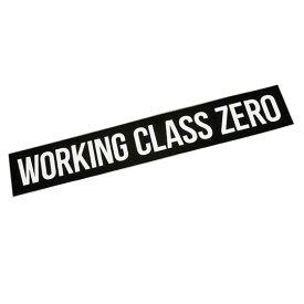 ワーキングクラスゼロ WCZ スタンダードステッカー 15inch WORKINGCLASSZERO