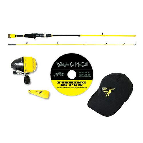 Wright&McGill スキートリースJr.チャンピオンロッドコンボ【釣り/フィッシング/釣り具/釣具】