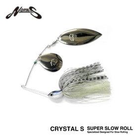 ノリーズ クリスタルS スーパースローロール 1/2oz Nories CRYSTAL S SUPER SLOW ROLL【1】