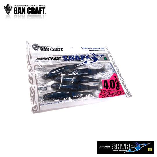 ガンクラフト シェイプス 4inch GAN CRAFT SHAPE-S