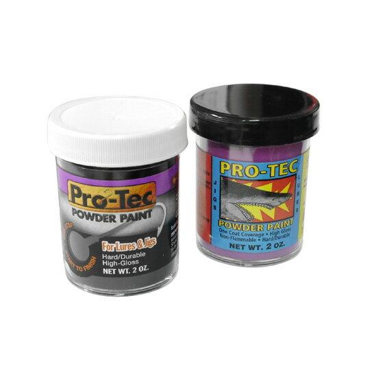 【在庫限り50%OFF】Pro-Tec Powder Paints/パウダーペイント ジグヘットのヘッドを塗装するパウダー