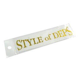 deps デプス STYLE OF DEPS  カッティングステッカー M