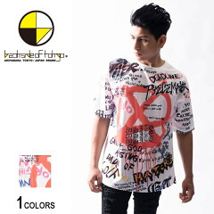 backsideoftokyo(バックサイドオブトーキョー)落書きプリントTシャツ(男女兼用)■