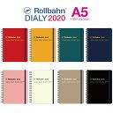 2020 ロルバーン ダイアリー A5 スケジュール帳 手帳 2019年10月から2020年12月 デルフォニックス Rollbahn monthly p…