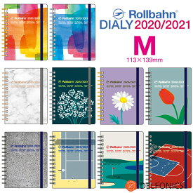 ロルバーン ダイアリー M 2020 スケジュール帳 手帳 2020年3月始まり2021年4月まで デルフォニックス The Rollbahn Monthly Planner Seasonal Limited Edition from DELFONICS