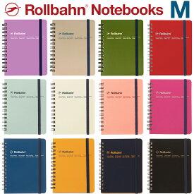 ロルバーン M ノート ポケット付メモ デルフォニックス メモ帳 The Rollbahn Grid Notebook Medium from DELFONICS