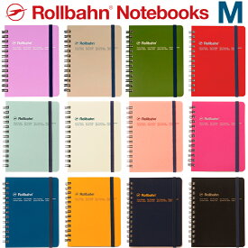 ロルバーン M ノート ポケット付メモ 新色 デルフォニックス メモ帳 日記 The Rollbahn Grid Notebook Medium from DELFONICS