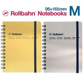 ロルバーン ゴールド シルバー M ノート ポケット付メモ デルフォニックス The Rollbahn Grid Notebook Gold & Silver from DELFONICS