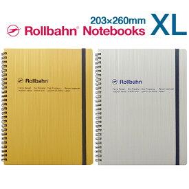 ロルバーン ゴールド シルバー XL ノート ポケット付メモ デルフォニックス Rollbahn Notebooks DELFONICS 税抜き7000円以上で送料無料