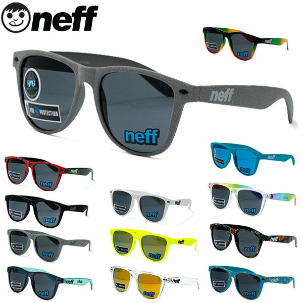 NEFF ストリート 送料無料 UVカット レディース ネフ スケート ミラー メンズ サングラス