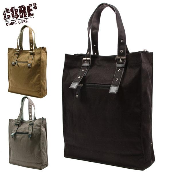 ママ割エントリーで全品ポイント5倍対象 トートバッグ CUBIC 鞄 かばん 定番 人気 a4 大きめ メンズ おしゃれ バッグ トート CORE