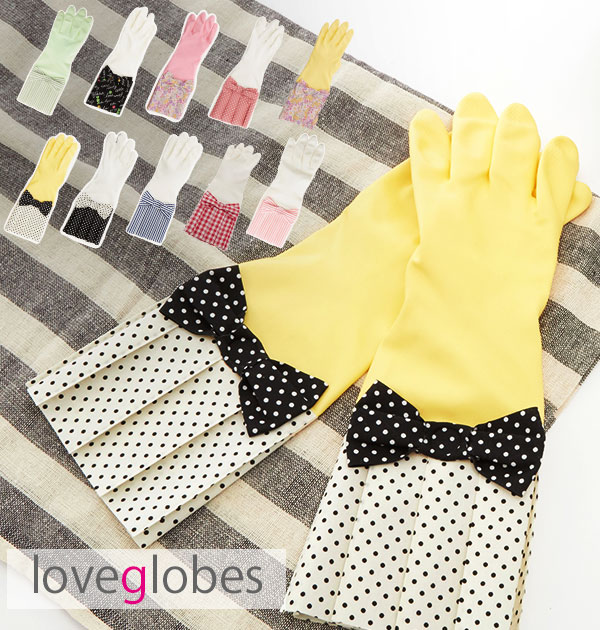 Ladyu0027s Gloves Rubber Cleaning Gardening Private Vegetable Garden Fleece  Pile Washing Slipper Kitchen Glove 12546 13358 For The Washing Up Mail  Order Kitchen ...