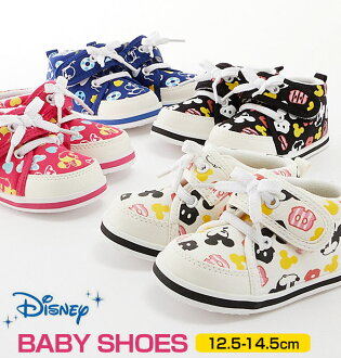 Fashion 12.5 13 13.5 14 14.5 that the light lightweight baby baby first shoes which are easy to wear child sneakers shoes shoes Mickey Mickey mini Minnie Donald Donald child shoes magic tape Velcro of the baby shoes mail order Disney Disney boy woman are