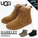 ugg メンズ ブーツ 通販 HARKLEY 1016472 ハークレー ブランド アグ クラシックブーツ スエード レースアップ ムート…