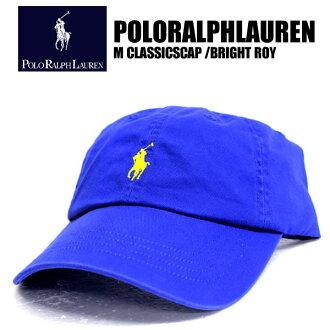 POLO RALPH LAUREN 폴로 랄프 로렌 모자 M CLASSICS 클래식 로열파랑 71059 CAP 원포인트 자수 캡 맨즈 레이디스 댄스 의상 골프 야구모포니 리조트계 해수욕 스포츠