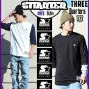 七分袖 七分丈 7分袖 7分丈 Tシャツ STARTER BLACK LABEL スターター ブラックレーベル THREE QUARTERS TEE カットソー トップス メン…