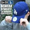 NEWERA new era Cap 9 TWENTY Los Angeles Dodgers 6 PANEL MLB Los Angeles Dodgers 10060027 blue Cap CAP Cap Hat LA sports baseball adjuster men's women's fashion street hip hop B series casual logo