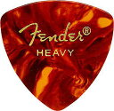 【ピック12枚セット】Fender CLASSIC PICKS 346 SHAPE Heavy Tortoise Shell フェンダー・ピック・ヘヴィー 【smtb-ms…
