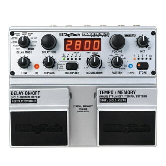 DigiTech Digitech TimeBender delay effector time vendors