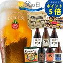 [P5倍!]日本一受賞ビール2種類入り 父の日 ギフト 地ビール 送料無料 プレゼント ビール 5種6本 飲み比べ お礼 セット…
