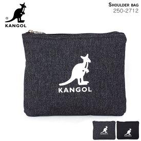 カンゴール KANGOL サコッシュ ショルダーバッグ ロゴプリント 250-4712 メンズ レディース ビッグロゴ