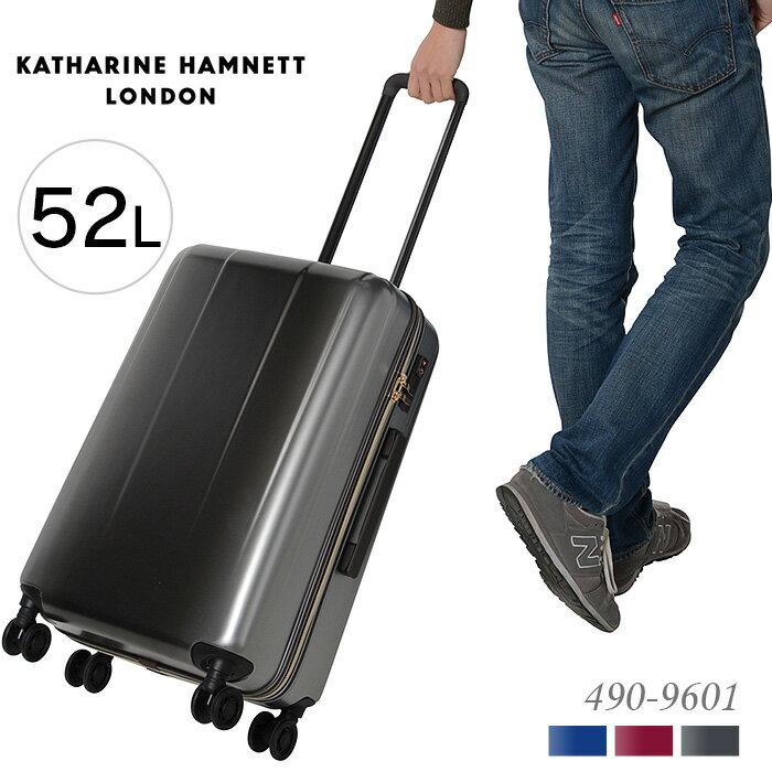キャサリンハムネット スーツケース キャリーケース 52L KATHARINE HAMNETT ターミナル2 490-9601 2泊〜4泊 出張 旅行 送料無料