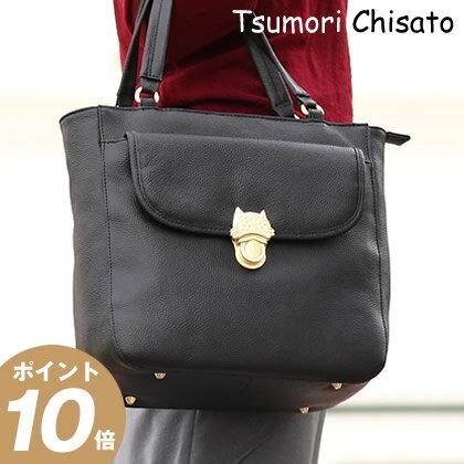 ツモリチサト バッグ tsumori chisato CARRY NEWカリヤネコ レディース トートバッグ ネコ ねこ 猫53452 WS
