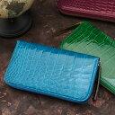 【池田工芸】日本最大のクロコダイル専門店が贈る Crocodile Long Wallet (クロコダイル ロングウォレット) カラー次回出荷日9月25日頃出荷
