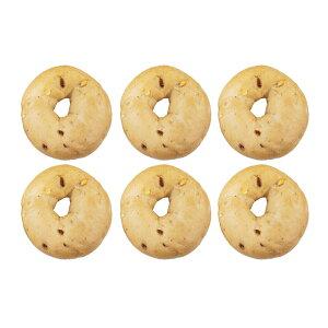 『ストロベリーホワイトチョコベーグル6個セット』BAGEL&BAGEL/いちご/苺/イチゴ/ホワイトチョコ/ミルキー/パン