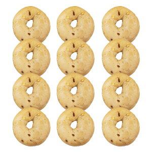『ストロベリーホワイトチョコベーグル12個セット』BAGEL&BAGEL/いちご/苺/イチゴ/ホワイトチョコ/ミルキー/パン