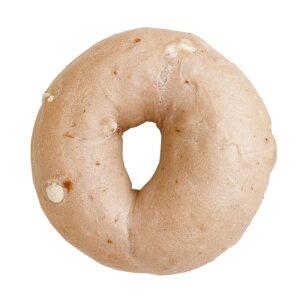 『ストロベリーホワイトチョコベーグル【単品】』BAGEL&BAGEL/いちご/苺/イチゴ/ホワイトチョコ/ミルキー/パン