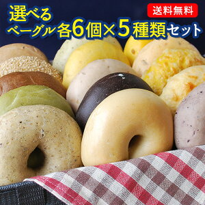BAGEL&BAGEL ベーグル30個セット 6個×5種 まとめ買い販売中のベーグルがほぼ網羅できる ベーグル アンド ベーグル 冷凍パン おしゃれ まとめ買い 低脂肪 低脂質 ダイエット お取り寄せグルメ