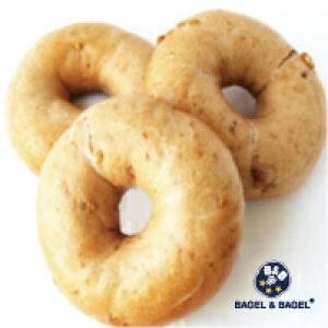 BAGEL&BAGEL メープルウォルナッツベーグル3個セット ベーグル アンド ベーグル 冷凍パン おしゃれ まとめ買い 低脂肪 低脂質 ダイエット お取り寄せグルメ【2〜3営業日以内に出荷】