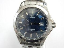 【電池交換済】オメガ/OMEGA シーマスター120 2511.81 メンズ 腕時計 ネイビー/ブルー文字盤【中古】