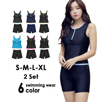 Tank top bikini rush guard tops sleeveless short pants shorts half underwear show bread sports for the size S/M/L/LL woman whom a fitness swimsuit separate swimsuit figure cover set swimsuit competition swimsuit swimming race swimsuit fitnessware Lady's
