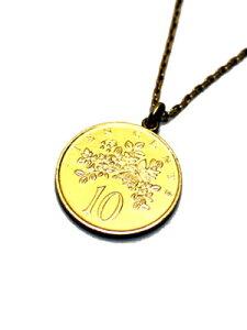 ペイバック PAYBACK ジャマイカゴールドコイン ペンダントトップ ネックレス JAMAICA 10C GOLD COIN NECKLACE