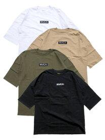 ルーカ RVCA イン ブルーム ボックス ルーカ ショートスリーブ Tシャツ IN BROOM BOX RVCA SS -4.COLOR- メンズ S-L ブラック/ホワイト/ベージュ/オリーブ