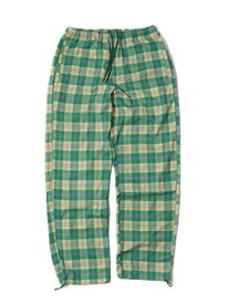 モーレー MONTLEY パンツ ボトムス ロゴ メンズ ユニセックス ストリート 定番 人気 男女兼用 1-3 CHECK PANTS -YELLOW-